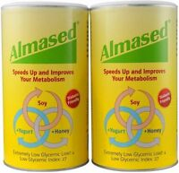 4 Pack Almased Multi Protein Synergy Diet Program Powder Weight Loss Meal 17.6