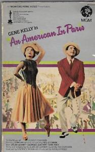 An-American-in-Paris-1981-VHS-Big-Box-Gene-Kelly-MGM-1951-Production