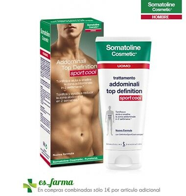 SOMATOLINE HOMBRE TOP DEFINITION ABDOMINALES SPORT COOL 200ML SPORTCOOL MAN
