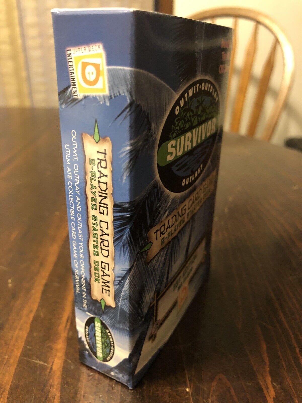 1st Edition Survivor Upper Deck Trading Card Game Starter Deck