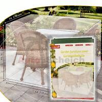 Gartenmöbelhülle Gartenmöbelabdeckung Schutzhülle Plane Abdeckplane Möbel Tisch