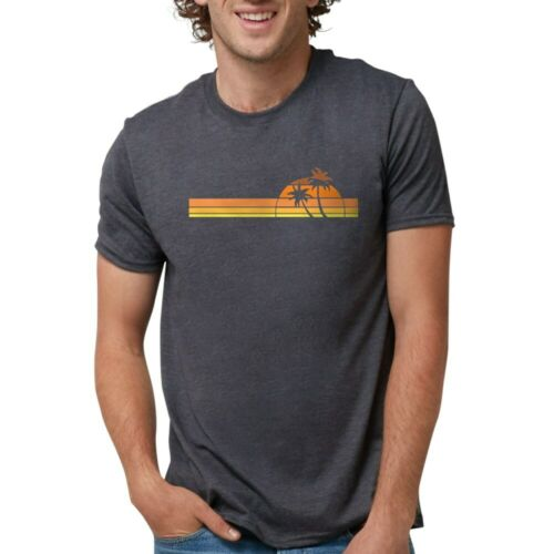227213124 CafePress Beach White T Shirt Mens Tri-blend T-Shirt