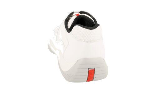 Weiss Neu 9 Luxus Americas Cup 5 43 Prada New 43 4e2043 Sneaker Schuhe x0gBqUYgw