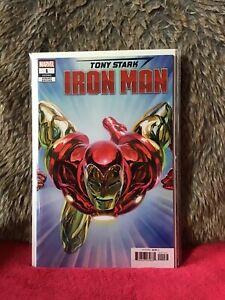 TONY-STARK-IRON-MAN-1-ALEX-ROSS-1-in-50-VARIANT-EDITION-MARVEL-COMICS