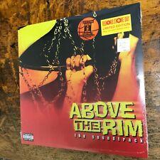 ABOVE THE RIM Soundtrack RSD 2021 6/12 2LP sealed Yellow Orange VINYL Record NEW
