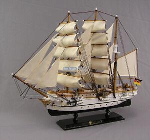 Segelschiffmodell Gorch Fock Segelschiff Modell Segler Standmodell Großsegler