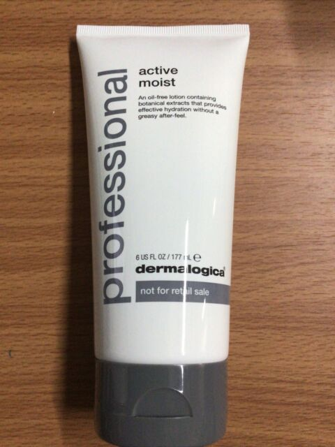 Professional Dermalogica:Active Moist, 6 oz (177 ml) NEW,Sealed!