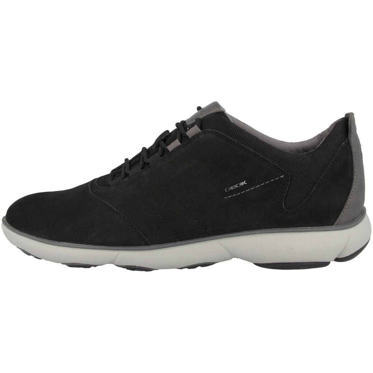 Geox u nebula c sneakers mens leisure shoes Black u74d7c000ltc9999