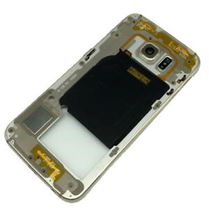 Samsung-Galaxy-S6-Edge-G925F-Remplacement-Metal-Mi-Chassis-Lunette-Chassis-Golden