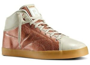 REEBOK T RAWW CLASSIC CASUAL FASHION MID RETRO SNEAKER OFF WHITE ... a02a87160