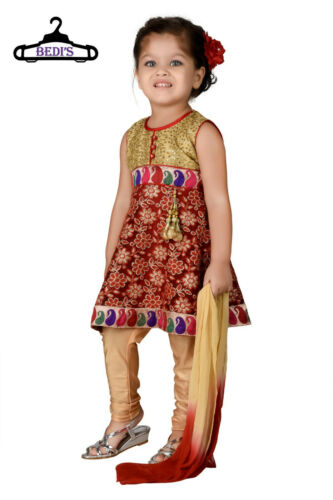 BABY GIRL FROCK PROM GOWN DRESS GIRL ANARKALI SUIT NEW BORN INFANT SALWAR SUIT