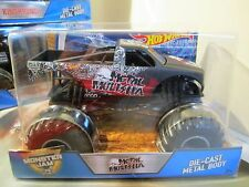 Hot Wheels Monster Jam Truck 1:24 Scale Die-Cast Metal Body Metal Mulisha
