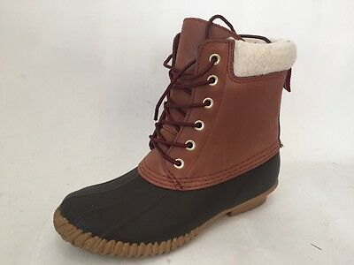 Tommy Hilfiger Russel Women Brown Winter Boot Size 7 M New