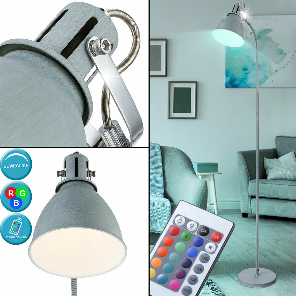 RGB LED Design lamp remote control lighting reading lamp spotlight adjustable