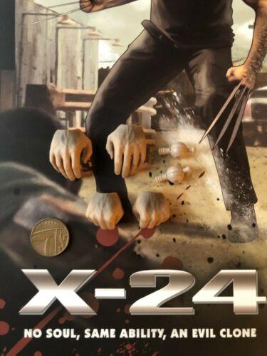 SooSoo Toys X-24 WOLVERINE LOGAN MANI x 4 /& esegue il pegging Loose SCALA 1//6th