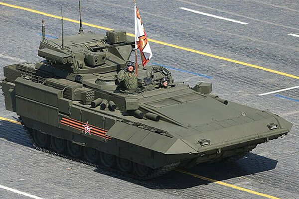 ZVEZDA 3681 Russian Heavy Infantry Fighting Vehicle TBMP T-15 ARMATA 1 35
