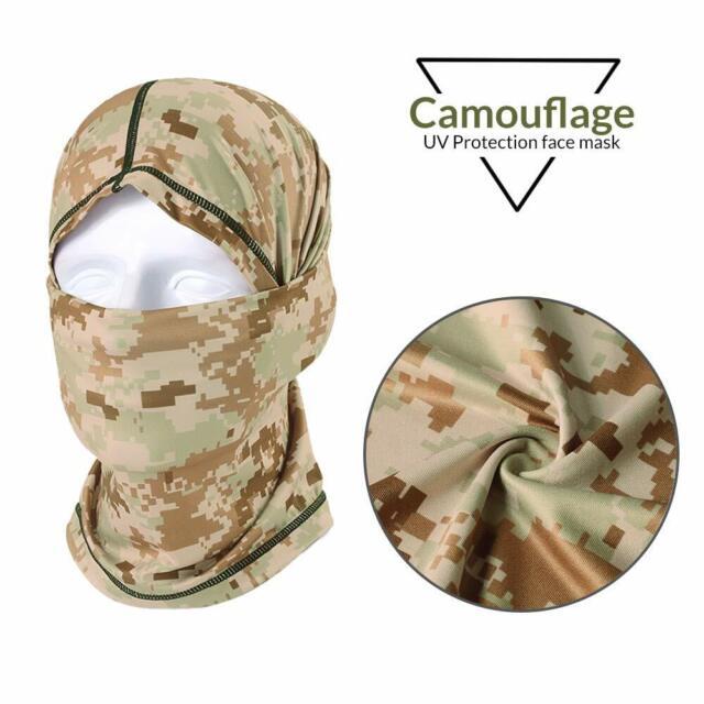 Fly Fishing Scarf Headwear Sun Protection Mask Anti-UV Neck Gaiter Hood #165