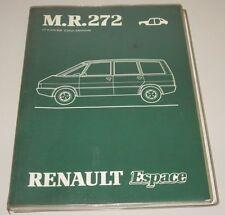 Werkstatthandbuch Renault Espace I J 112 Karosserie Stand Juli 1984!