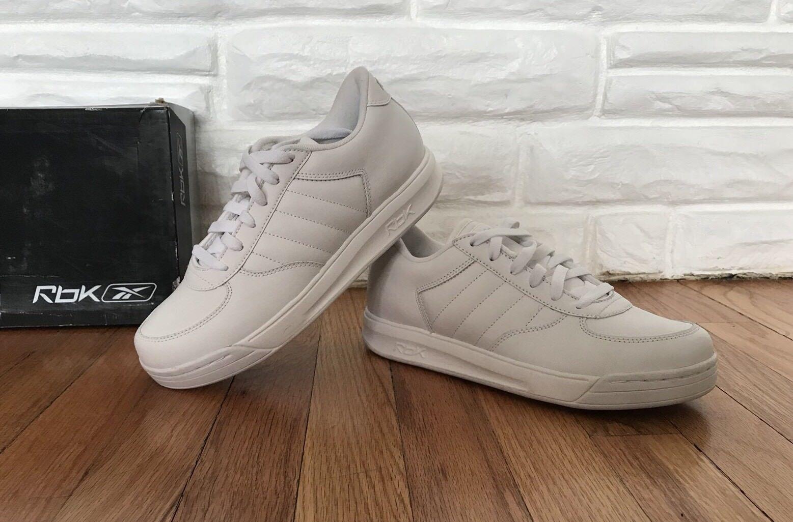 Reebok S Carter Bball Low White/Gray Size 6 Shoe