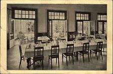 Baden Baden alte Ansichtskarte 1921 Sanatorium Quinsana Innenansicht Speiselsaal