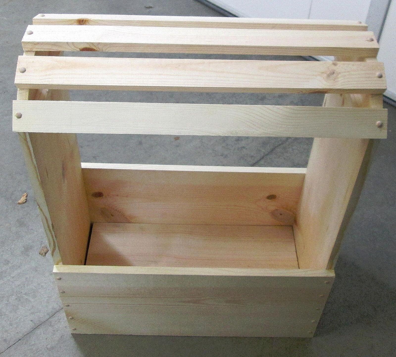 Silla De Montar Soporte de madera o en rack sin rematar y listo para la mancha o pintura