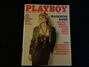~Playboy September 1985 last stapled issue Sexy Madonna