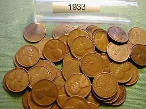 1938-S LINCOLN WHEAT CENT PENNY ROLL Nice hard-to-get-roll Low sale price!