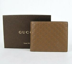 Gucci-Men-039-s-Brown-Microguccissima-Leather-Bifold-Wallet-260987-2527