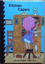 1988 CARMEL CHAPTER #494 ORDER OF THE EASTERN STAR MASONIC COOKBOOK, CARMEL, IN