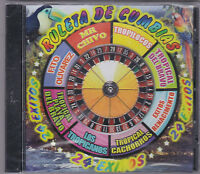 Ruleta De Cumbias-24 Exitos-various Artist-tejano Texmex Latin Cd Sealed (58)