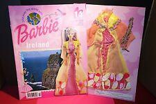 Barbie doll clothes Discover the World ,Ireland no 14 magazine & clothes