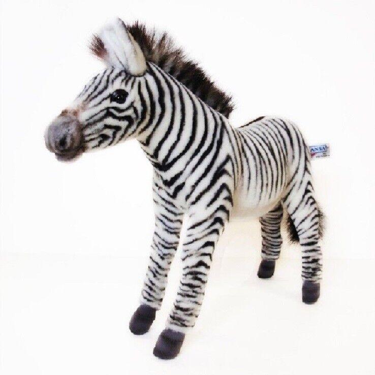Hansa Toy 5153 Zebra 32 cm cm cm Kuscheltier Stofftier Plüschtier e409a0