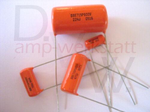 Orange Drops Kondensator 15nF 600V 5/%