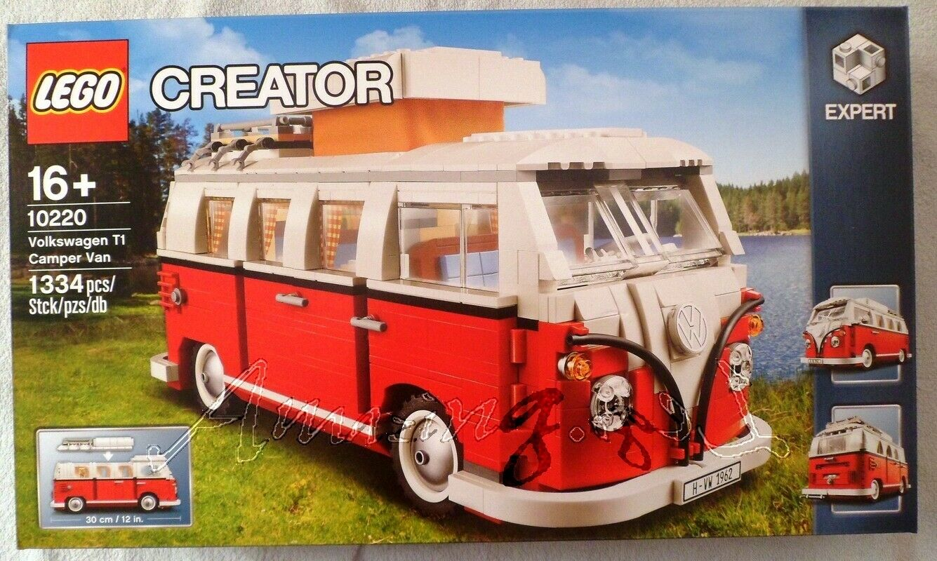 Genuine New Lego VW Camper 10220    Factory Sealed