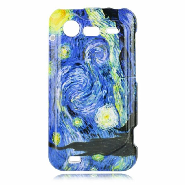 For HTC Droid Incredible 2 6350 Hard Protector Case Phone Cover Starry Night