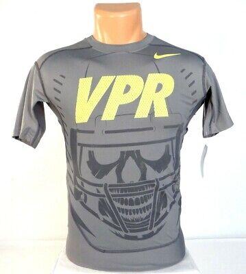 Salida hacia carril Instantáneamente  Nike Pro Combat Dri Fit Max HyperCool Series Gray Compression Shirt Men's  NWT   eBay