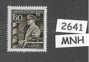 MNH Stamp / Adolph Hitler Birthday / 1944  Third Reich Germany WWII Occupation