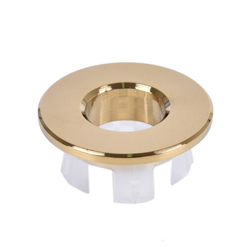 Bathroom Basin faucet Sink Overflow Cover Brass Six-foot Ring Insert Replacem Jd