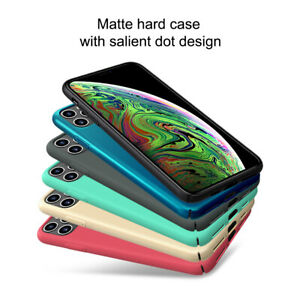 Nillkin-Super-Frosted-Shield-Matte-Hard-Case-Cover-pour-Apple-iPhone-11-Pro-Max