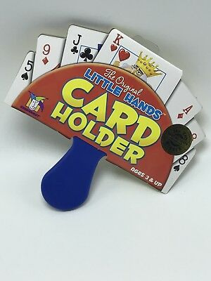 Card Games & Poker Toys & Hobbies Sincere Original Little Hands Uno Go Fish Old Maid Game Playing Card Holder For Children Convenient To Cook