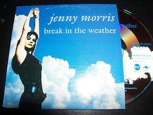 Jenny-Morris-Break-In-The-Weather-Rare-Australian-Card-Sleeve-CD-Single