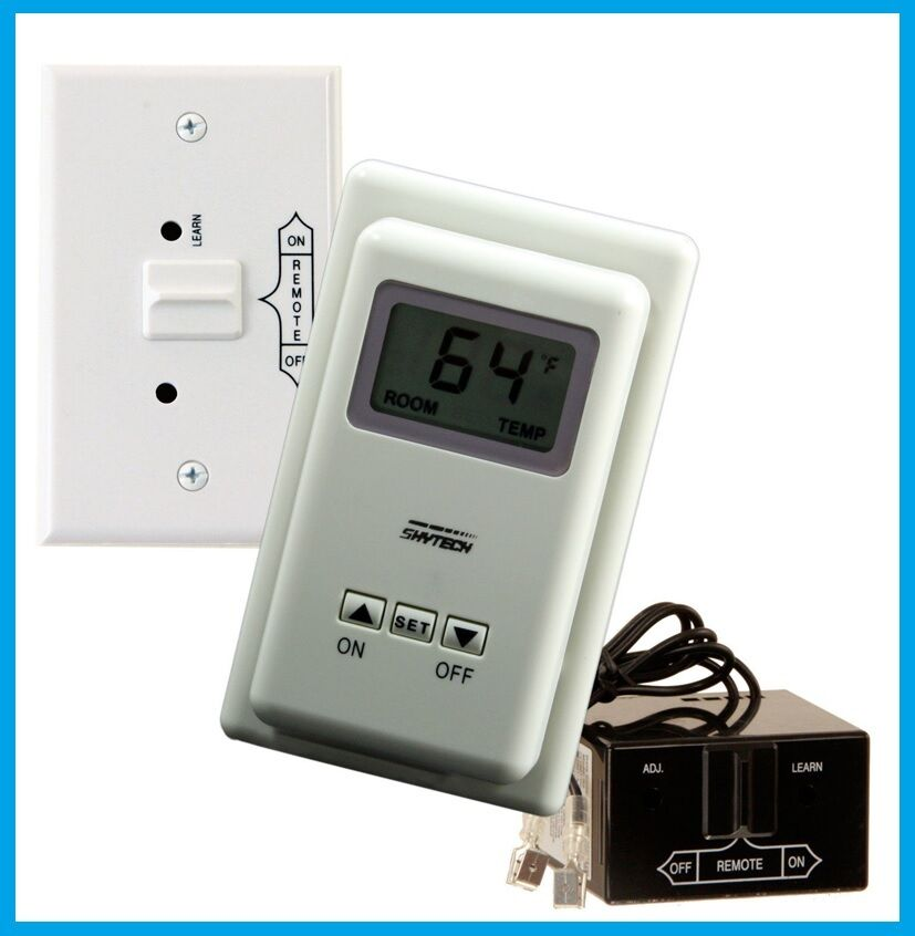 Skytech Model Ts R 2 A Wireless Thermostat Fireplace