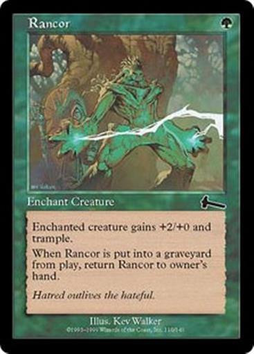 RANCOR Urza's Legacy MTG Green Enchantment — Aura Com