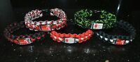 Diabetes alert Paracord Bracelets, 550 Paracord Medical Awareness Bracelet