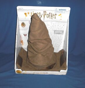 Wizarding-World-Of-Harry-Potter-Talking-Animated-SORTING-HAT-NEW-Halloween-HTF