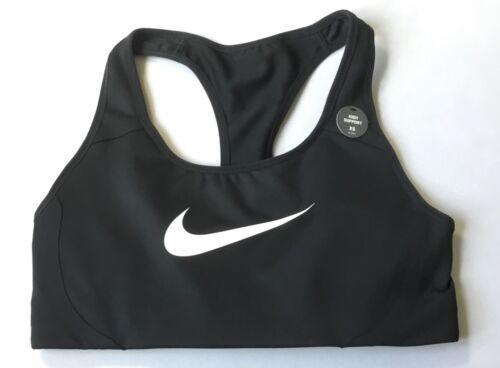 Nike Women's  Semi-padded Victory Shape High Impact Bra Black AJ5219 Size M