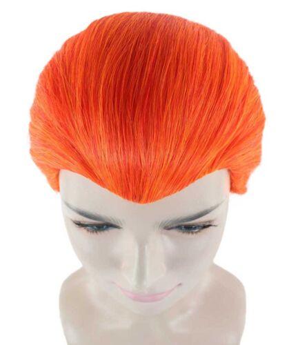 Orange Wig Slicked-back Short Hair for Cosplay X-Men Mystique Costume HW-1918