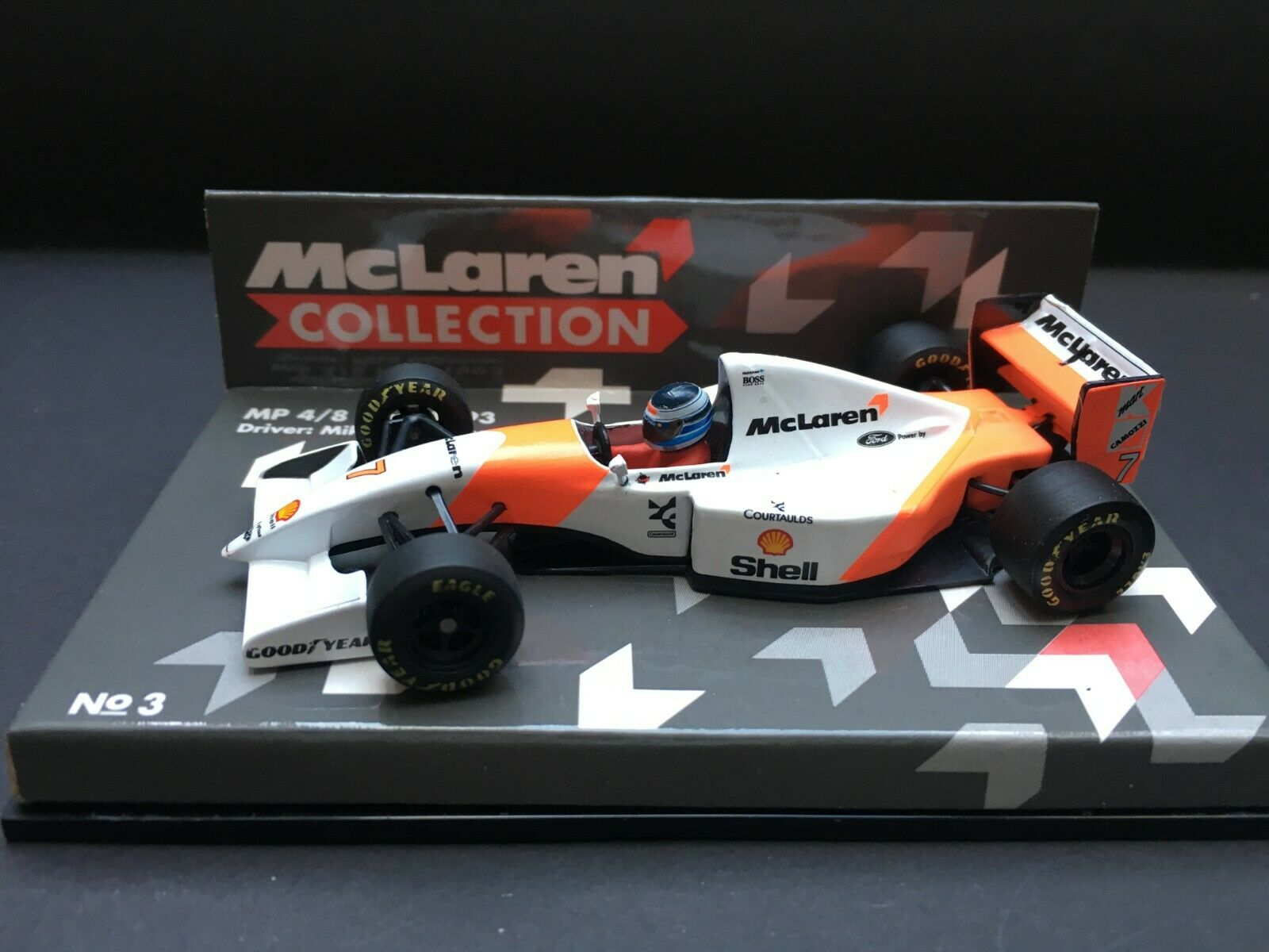 Minichamps - Mika Hakkinen - McLaren - MP4 8 - 1 43 -1993 - Team Edition