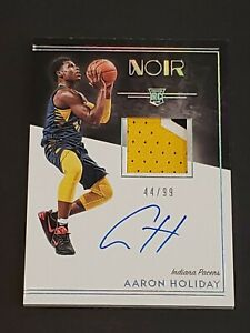 2018-Noir-Auto-3-Color-Patch-99-Aaron-Holiday-RC-Rookie