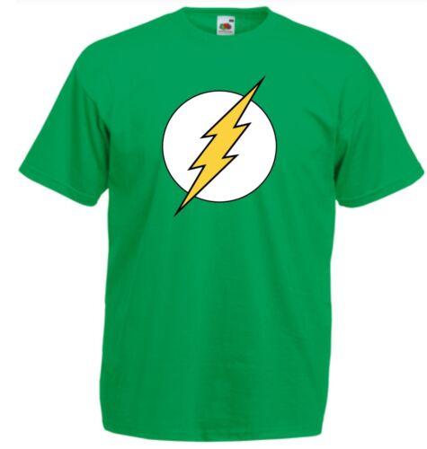 SUPER EROE Il flash T Shirt per Bambini Taglia Jay Garrick GORDON Film